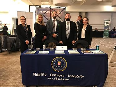 The United States FBI at the 2019 Career Fair
