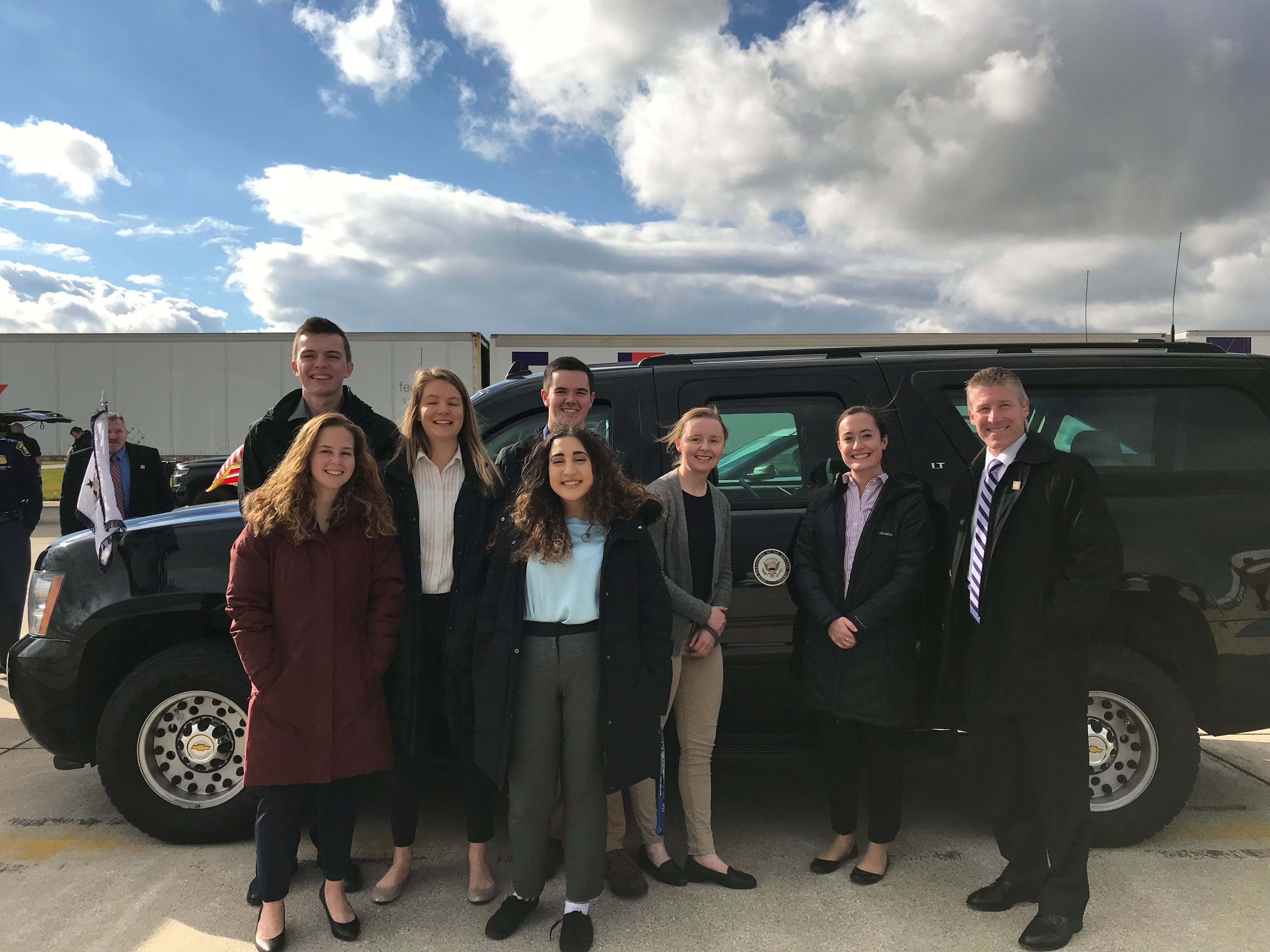 U.S. Secret Service Visit a Hit with Student Leaders